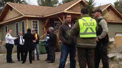 Glissement de terrain: 4 familles évacuées à