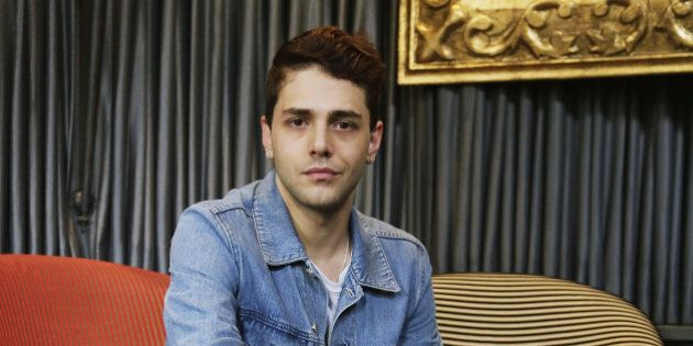 ROME, ITALY - NOVEMBER 28: Director Xavier Dolan attends the 'Mommy' photocall at Hotel Baglioni on November...