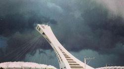 Un orage frappe la région métropolitaine