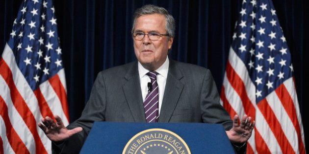 États-Unis: Jeb Bush, premier candidat majeur à se lancer dans la course à la Maison