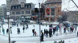Les plus belles patinoires extérieures partout au Québec