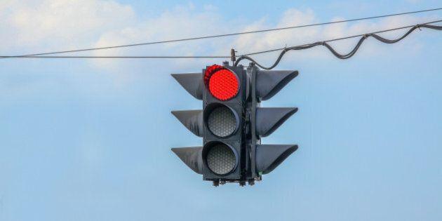 Baisse des accidents causés par un virage à droite au feu