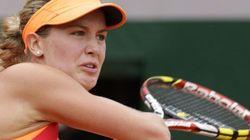 Eugenie Bouchard en demi-finales à Roland-Garros