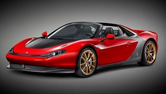 La nouvelle Ferrari Sergio sera disponible en six exemplaires