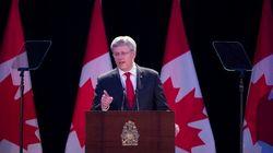 Harper en Europe sur fond de crise en