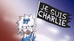 Les Simpson rendent hommage à Charlie Hebdo avec