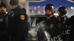 2e soirée de manifestations à Berkeley, Missouri, après la mort d'Antonio Martin