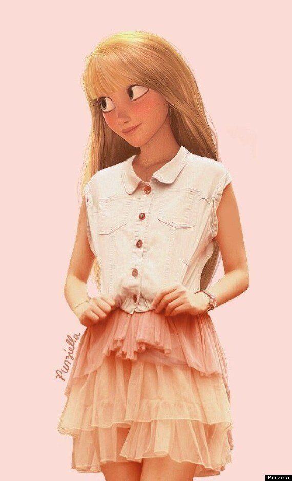 Les personnages de Disney à la mode d'aujourd'hui