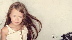 Kristina Pimenova, la top de 9 ans qui