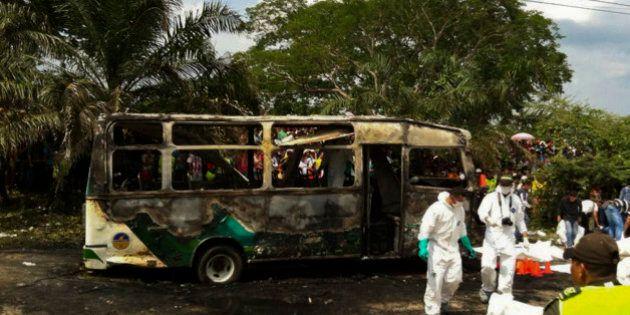 31 enfants périssent dans l'incendie d'un bus en