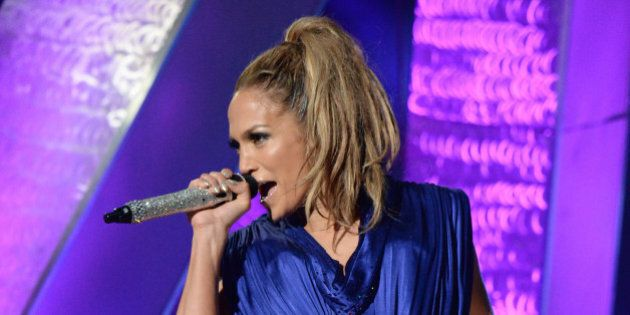 BRONX, NY - JUNE 04: Jennifer Lopez performs onstage during her first ever hometown concert to launch...