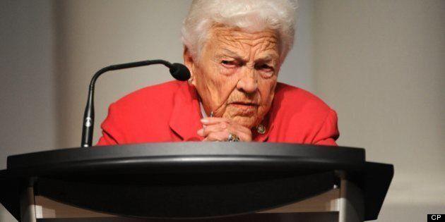 La mairesse de Mississauga, Hazel McCallion, tire sa révérence à 93