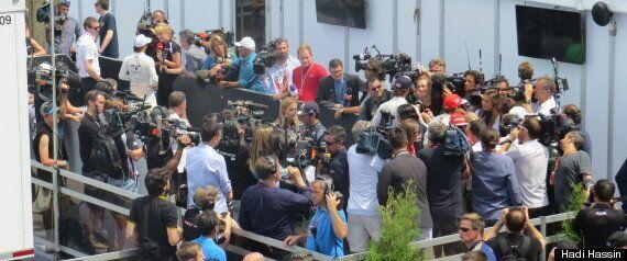 Une journée jet set au Grand Prix de Montréal dans le Paddock Club d'Infiniti Red Bull