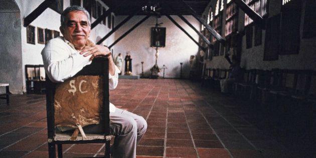 CARTHAGENA - FEBRUARY 20: Colombian writer and Nobel prize in literature winner Gabriel Garcia Marquez...