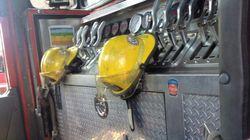 Manifestation bruyante des pompiers à