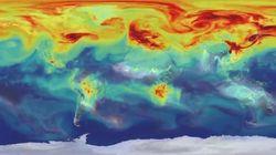 L'hypnotisant (mais terrible) parcours du CO2 dans l'atmosphère