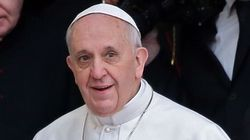 Le pape François en Terre
