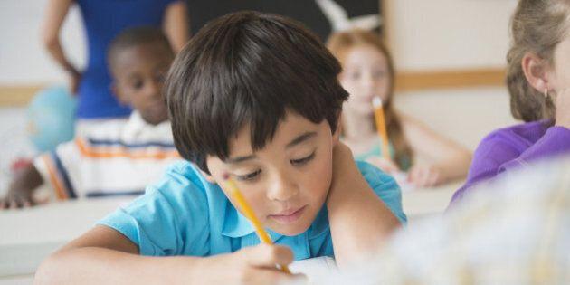 La salle de classe trop décorée serait une source de distraction chez