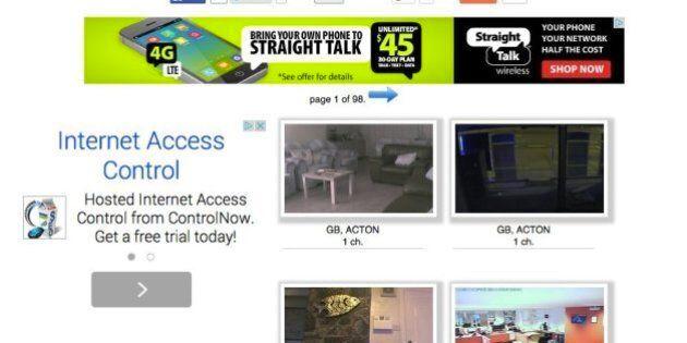Des milliers de webcams piratées à travers le monde par un site