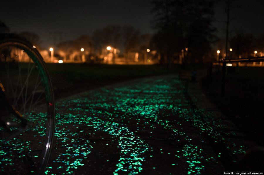 Une piste cyclable pour illuminer vos nuits