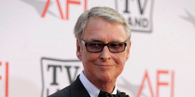 Director Mike Nichols arrives at the AFI Lifetime Achievement Awards honoring Mike Nichols, presented by TV Land at Sony Pictures Studios on Thursday, June 10, 2010 in Culver City, Calif.  (AP Photo/Chris Pizzello)