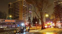 Une femme subit des brûlures dans un incendie à