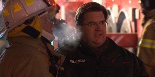 Montréal: le maire Denis Coderre n'est plus le bienvenu sur les scènes