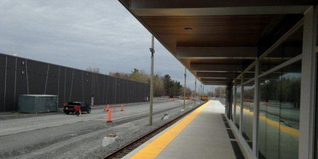 Le train de l'Est entrera en fonction le 1er décembre