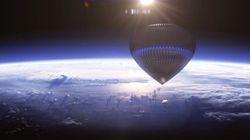 Vous pourrez bientôt voyager dans l'espace en montgolfière