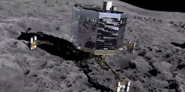 Le robot Philae a envoyé un signal montrant qu'il est «toujours