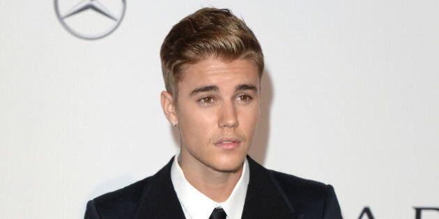 Justin Bieber attending the amfAR Gala, Hotel Du Cap, Antibes, part of the 67th Festival de