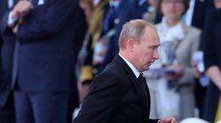Vladimir Poutine escorté par des navires de guerre au sommet du