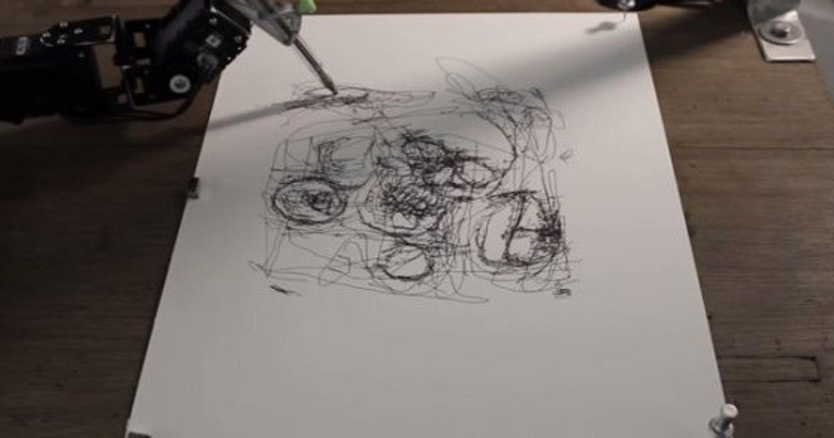 6c662b9d2bd Un robot-artiste capable de dessiner comme nous (VIDÉO)