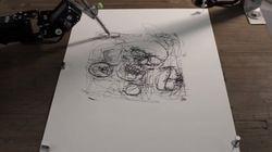 Paul-IX, un robot capable de dessiner comme