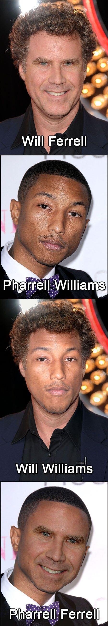 Will Ferrell et Pharrell Williams : un air de déjà