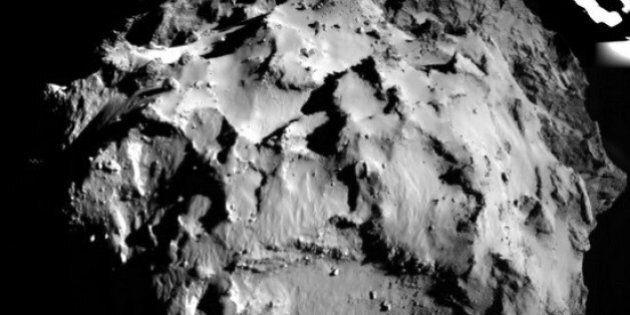Philae atterrisseur : les premières images prises sur la comète