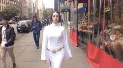 Princesse Leia aussi se fait harceler dans les rues de New York