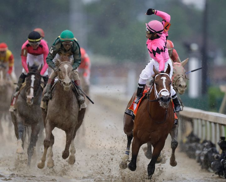 Country House, the second horse to cross the finish line, was declared winner of the Kentucky Derby.