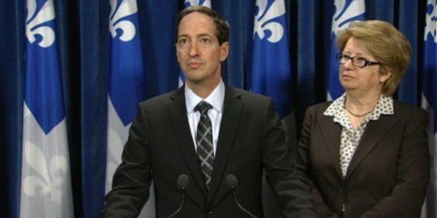 Gouvernement Couillard: le PQ et QS déplorent l'absence de