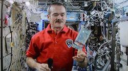 Chris Hadfield, l'astronaute aux pieds sur