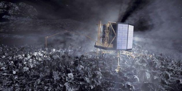Philae s'est posé avec succès sur la comète 67P/Churyumov-Gerasimenko