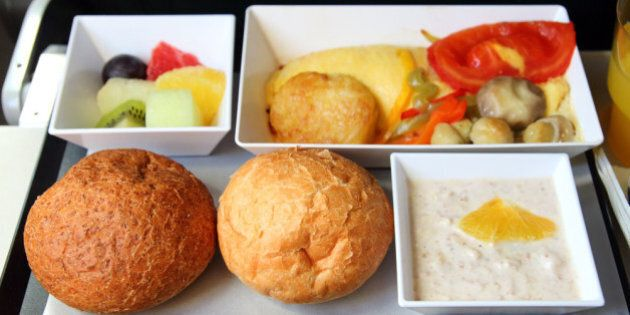 Voilà pourquoi votre repas dans l'avion est rarement à votre