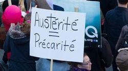La grogne contre l'austérité prend de