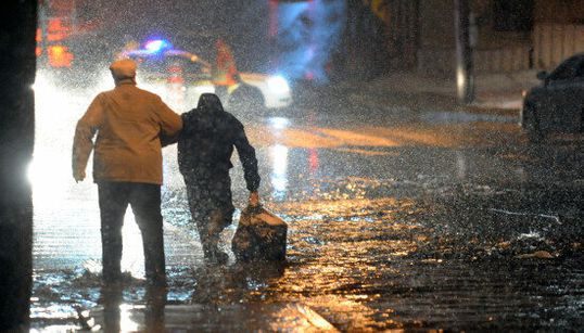 De nombreuses évacuations mardi soir (CARTE