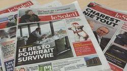 Compressions au journal Le Soleil : les correspondants de l'Est