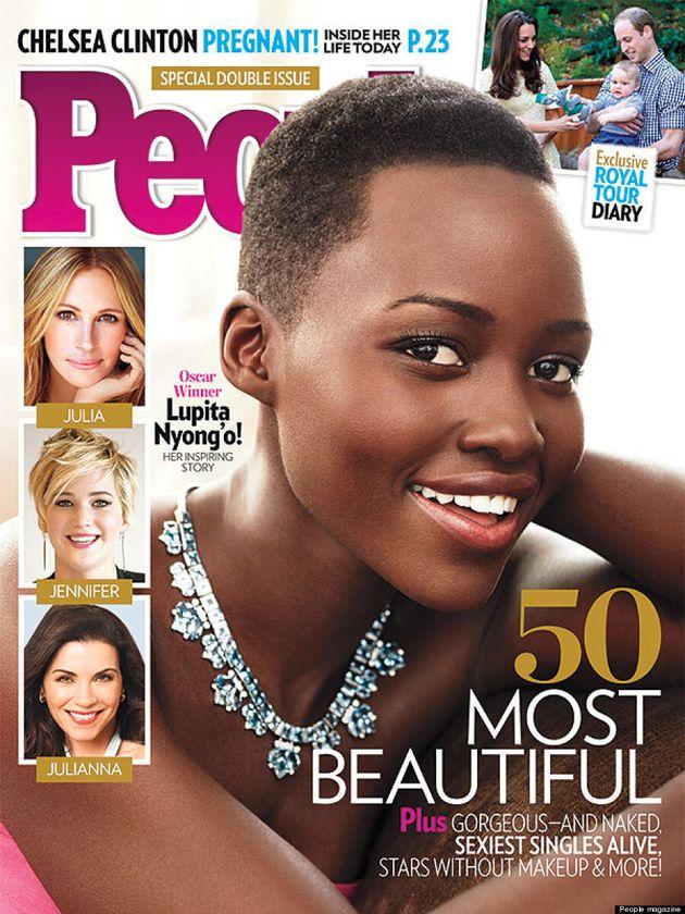 Lupita Nyong'o nommée la plus belle de 2014 par le magazine