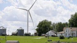 Pas de lien entre les éoliennes et les problèmes de
