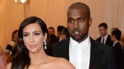 Kim Kardashian et Kanye West: les premières photos officielles de leur