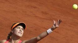 Eugenie Bouchard perd face à Sharapova à Roland
