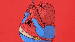 Et si les héros de BD étaient gros?